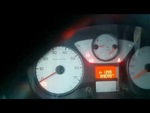 Peugeot Partner Tepee, Пежо партнер типи дизель, холодный запуск двигателя в мороз -33