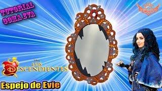 getlinkyoutube.com-♥ Tutorial: Espejo de Evie de Los Descendientes de Goma Eva (Foamy) ♥