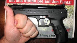 getlinkyoutube.com-Weihrauch HW40 Luftpistole-Review (German)