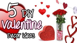 getlinkyoutube.com-5 DIY Valentine Decor Ideas | Brooklyn and Bailey