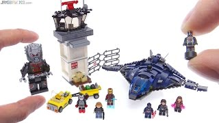 getlinkyoutube.com-LEGO Marvel Super Hero Airport Battle review! 76051