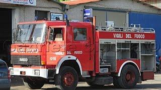 getlinkyoutube.com-[HD - Sirena Pompieri] 21x Vigili del Fuoco in Sirena-Emergenza-Azione per vari Interventi!
