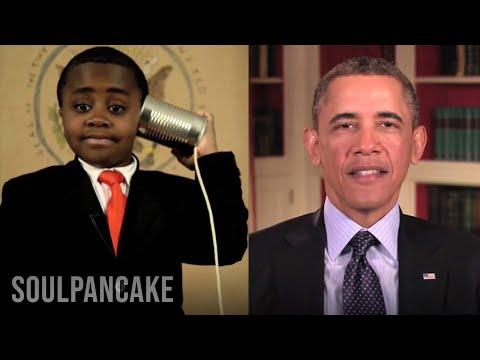 President Obama sends Kid President a Message