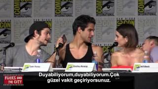 Teen Wolf Ekibi Comic Con Panelinde Tyler Hoechlin'i Arıyor (TR Altyazılı)