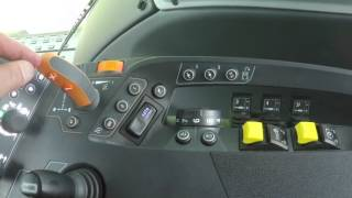 Valtra [N4 & T4 Versu] 05 Side panel controls part 08 Armrest Gear Lever and Powershift Limiter