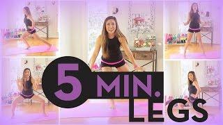 getlinkyoutube.com-5 Minute Long Lean Legs
