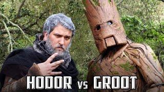 getlinkyoutube.com-HODOR vs GROOT RAP BATTLE