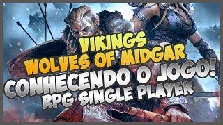 VIKINGS WOLVES OF MIDGAR #1 - CONHECENDO O GAME E PRIMEIRA GAMEPLAY