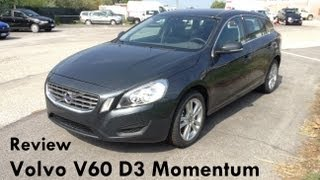 getlinkyoutube.com-2012 Volvo V60 D3 review - Revisione Volvo V60 D3