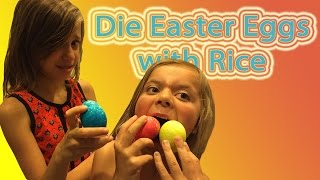 How do you dye easter eggs using RICE?| WE ANSWER THAT EP. 8