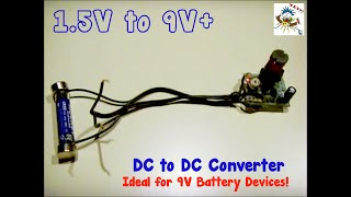 getlinkyoutube.com-DC to DC Converter(1.5V up to 9V+)