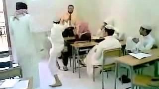 getlinkyoutube.com-استهبال سعوديين على مدرس بل فصل😂