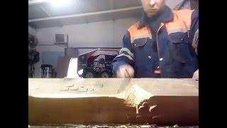 getlinkyoutube.com-Нож из быстрореза р6м5 Советское сверло