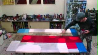 getlinkyoutube.com-LEARN HOW TO PAINT LARGE ABSTRACT ART Art Classes, Art Lessons, How to Paint