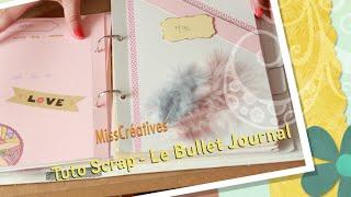 getlinkyoutube.com-Tuto Scrap - Le Bullet Journal