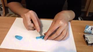 getlinkyoutube.com-Как сделать имитацию камня Бирюза из полимерной глины. Создать Бирюзу своими руками