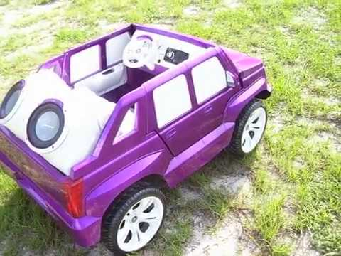 Vulgar Display Of Power Wheels Custom Candy Escalade 2