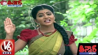 getlinkyoutube.com-Bithiri Sathi Funny Conversation With Savitri Over Handloom Products | Teenmaar News