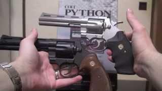 getlinkyoutube.com-Review Revolver Colt Python .357 magnum + extra... Airsoft Brasil