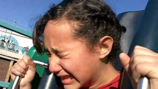 getlinkyoutube.com-Epic Roller Coaster Fail @ Disney California Adventure Terrified girl MUST SEE! Funny!!!