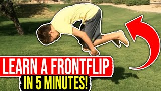 getlinkyoutube.com-How To Do A Front Flip (BOTH WAYS!)