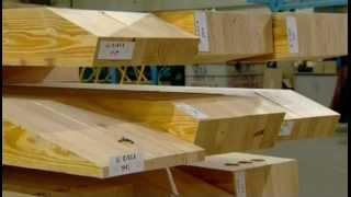 Ламинированные деревянные балки