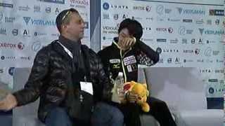 getlinkyoutube.com-Yuzuru HANYU LP Finlandia Trophy 2013