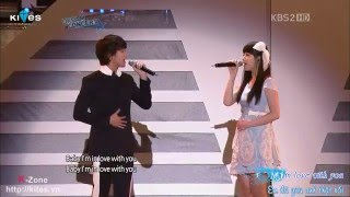 "getlinkyoutube.com-[Vietsub] ""Dreaming"" and ""Maybe"" - Kim Soo Hyun & Suzy - Dream Concert 2011"