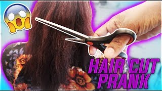 HAIR CUT PRANK ON WIFE **she freaks out** | THE PRINCE FAMILY