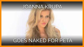 getlinkyoutube.com-Joanna Krupa Gets Naked for PETA
