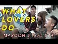 Maroon5 - What Lovers Do Cover by Vidi Aldiano, Sheila Dara, Boy William