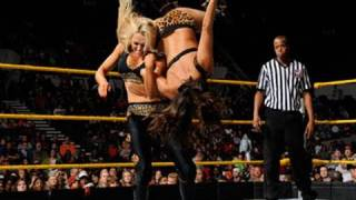getlinkyoutube.com-WWE NXT: Bella Twins & A.J. vs. Alicia Fox, Maxine & Aksana