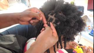 getlinkyoutube.com-Instant Dreadlocks