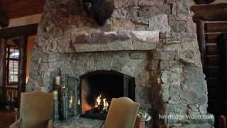 getlinkyoutube.com-$12 MILLION LOG HOME MANSION FOR SALE - Vail Colorado Real Estate Video Tour
