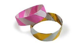 getlinkyoutube.com-Cách gấp, xếp vòng tay bằng giấy origami - Video hướng dẫn