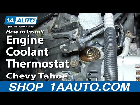 How To Replace Thermostat 95-99 Chevy Tahoe 5.7L