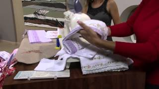 getlinkyoutube.com-Mulher.com 18/04/2013 Cissa Mesquita - Costura fralda e kit bebê Parte 1