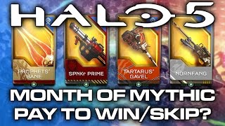 getlinkyoutube.com-Halo 5 Month of Mythic REQ Packs - Pay to Win? Pay to Skip?