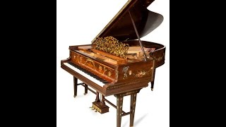 Art Case Steinway  the Prussian Prince's Love Piano Hamburg