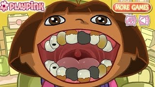 getlinkyoutube.com-Dora At The Doctor - Dora the Explorer - Dora Game