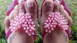 getlinkyoutube.com-Como fazer coração de Pérolas simples e lindo por Maguida Silva