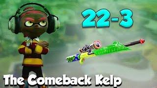 getlinkyoutube.com-Splatoon - The Comeback Kelp Scope! (Amazing Comeback!)