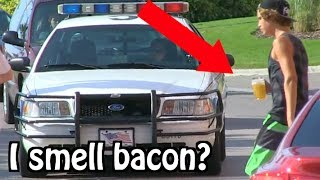 "getlinkyoutube.com-Kids Drinking Beer PRANK ON COPS... ""I THINK I SMELL BACON"""