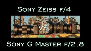 getlinkyoutube.com-Sony G Master f/2.8 vs. Sony FE Zeiss f/4 REAL Hands On Lens Challenge and Review by Jason Lanier