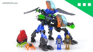 getlinkyoutube.com-REVIEW: Hero Factory Surge & Rocka Combat Machine! 44028 Invasion From Below