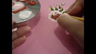 getlinkyoutube.com-Passo a Passo da Flor Carga Dupla que esta disponivel no DVD 1 by Nanda Costa