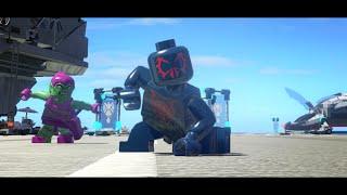 getlinkyoutube.com-LEGO Marvel Superheroes - Spider-Man 2099 (MOD)