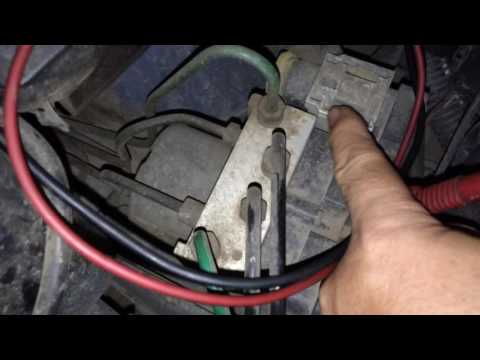 Peugeot 206 abs fault indikator abs nyala