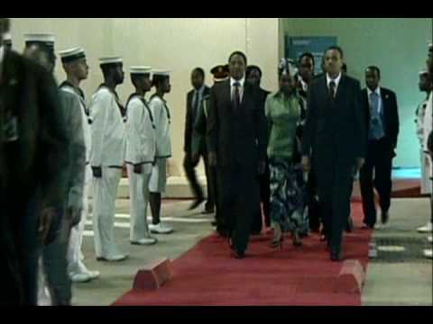 Arrival of the President of the United Republic of Tanzania.wmv