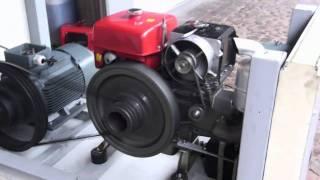 getlinkyoutube.com-BHKW Testlauf China Diesel Teil 1